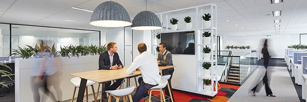 Collaboration Areas Supported by Technology - McGrathNicol office by PCG