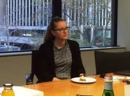 Dr Peggie Rothman at the PCG Sydney Office