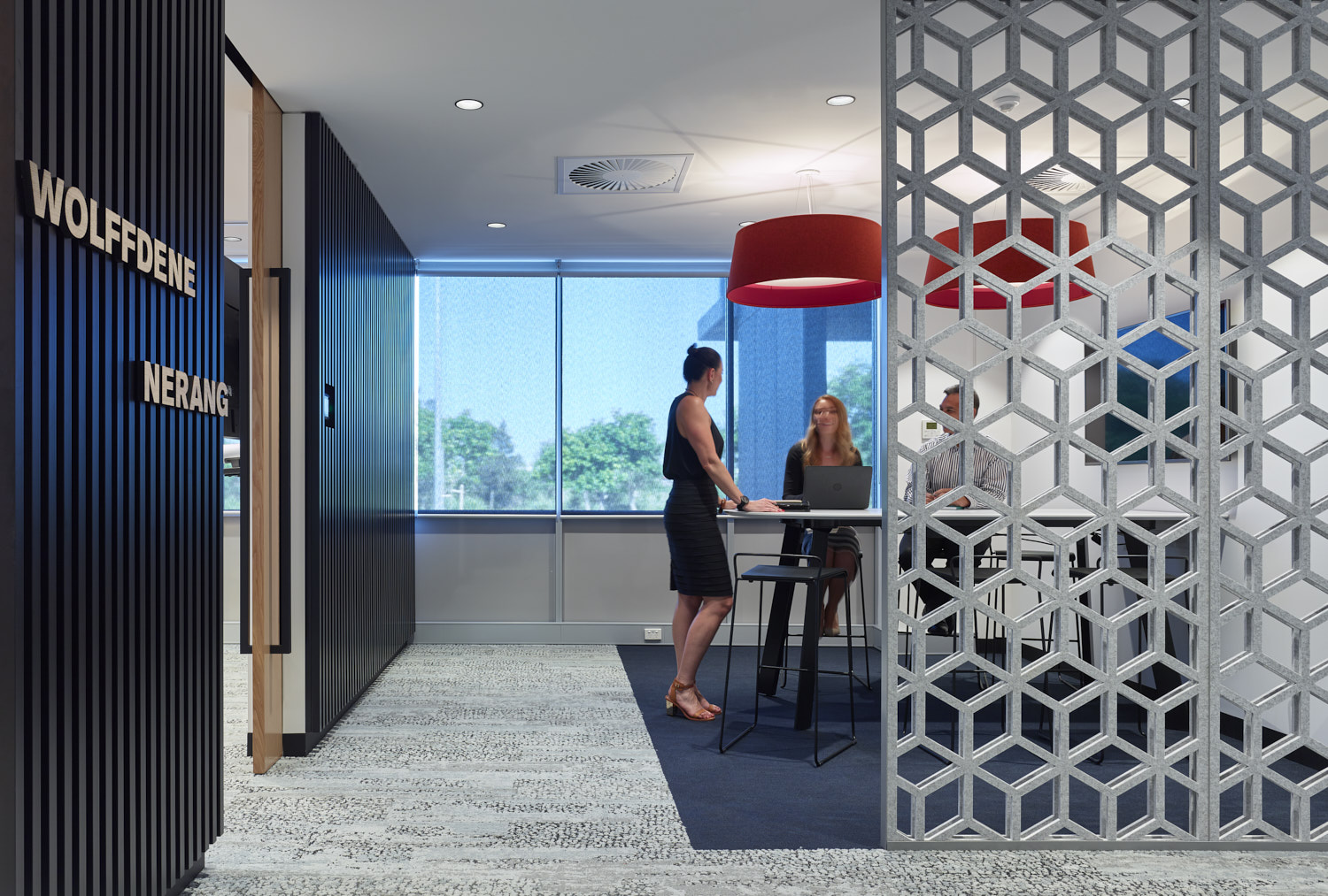 Hanson Brisbane Fitout Tenant Representation, Interior Design, Project & Construction Management Project Banner Image by PCG