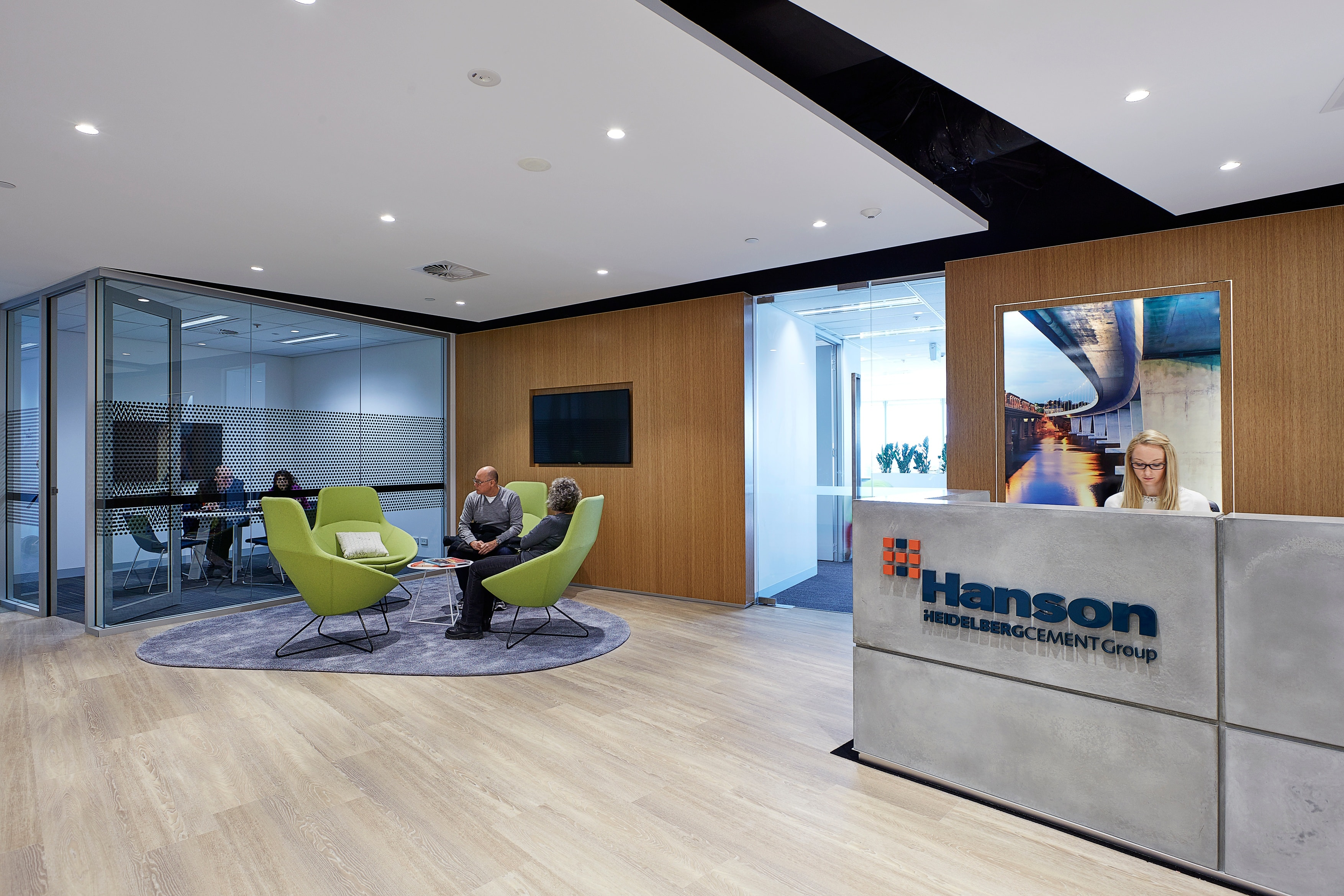 Hanson Parramatta Fitout Tenant Representation, Interior Design, Project & Construction Management Project Image 4 by PCG