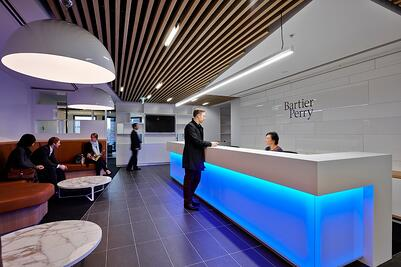 Bartier Perry, Law firm, Office Interior Design by PCG