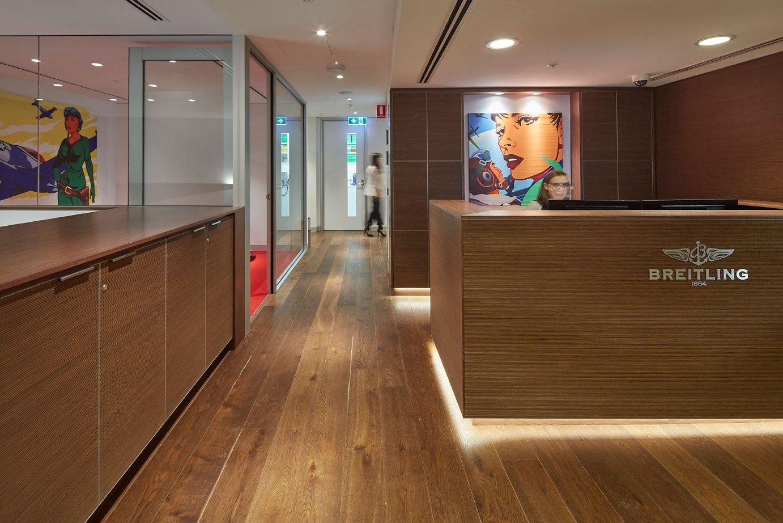 Breitling Australia - Corporate Reception