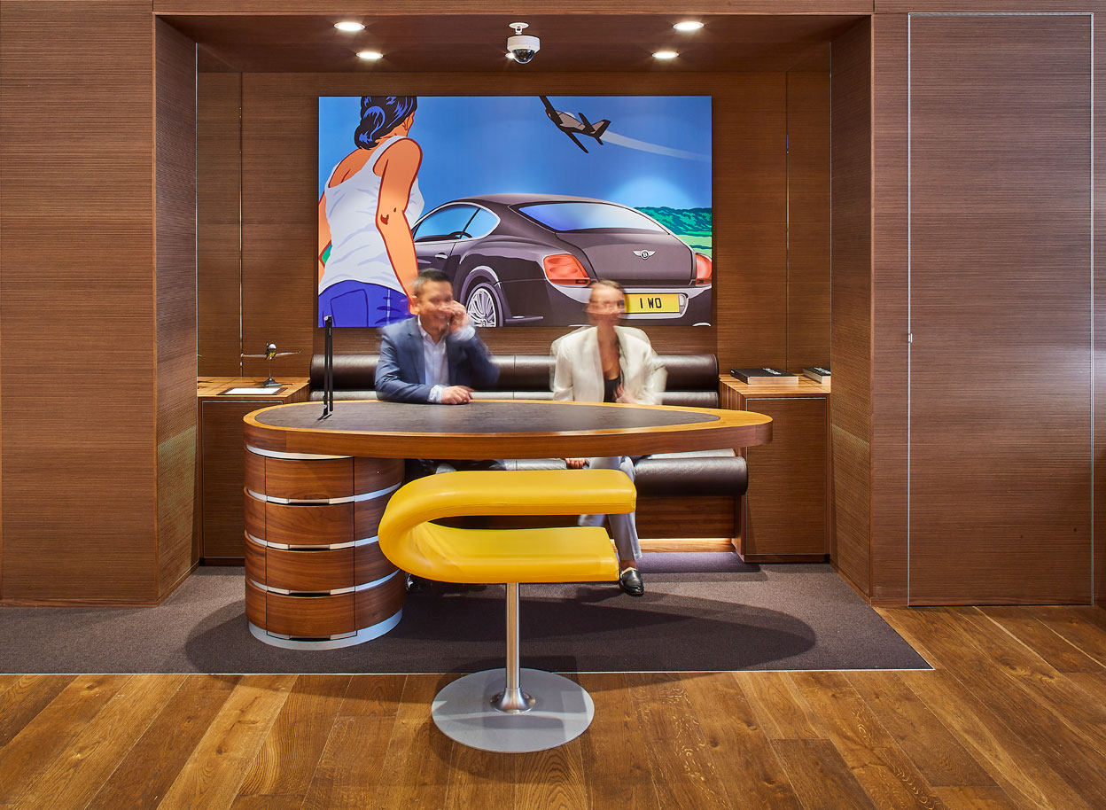 Breitling Australia - Customer Seating