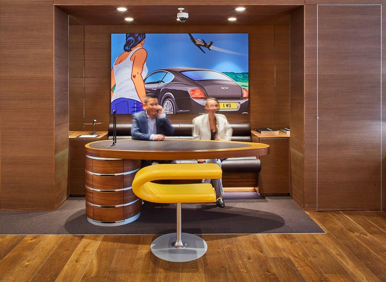 Breitling Australia - Customer Seating