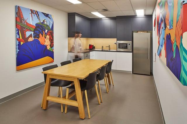 Breitling Austalia - Staff Area
