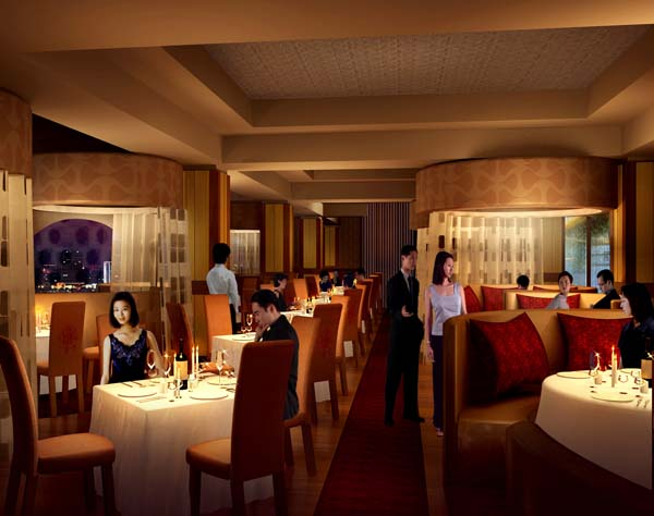 CLUB7 Shanghai - dining area