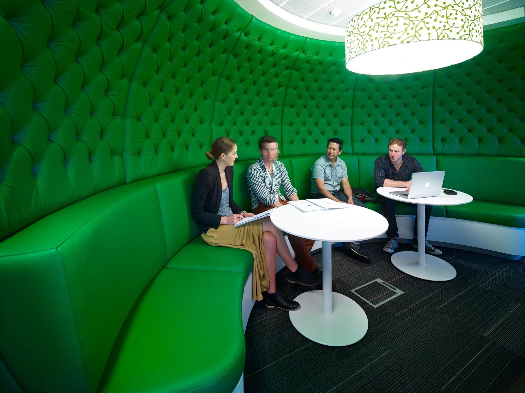 Lion Modern Office Design by PCG