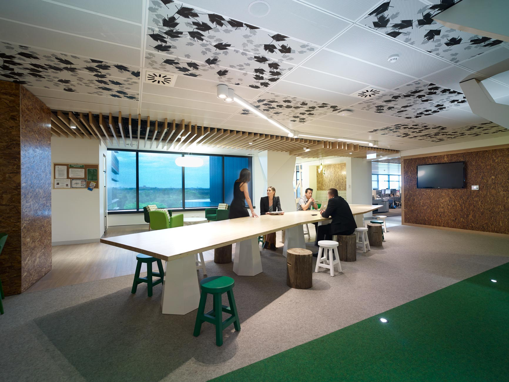 Lion Office Design by PCG