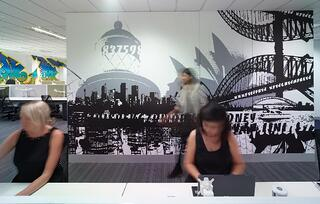 MYOB Sydney Office