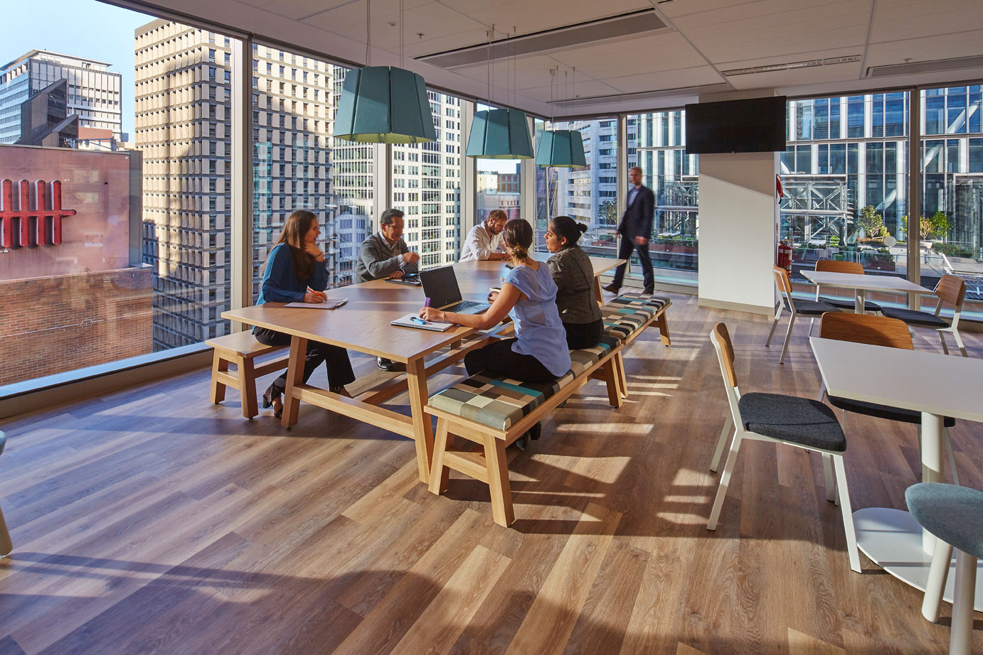 Peole Place and Technology-McGrath-Nicol Office Designed by PCG