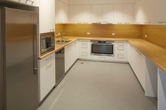 McGrath-Nicol Workplace Kitchen Design by PCG