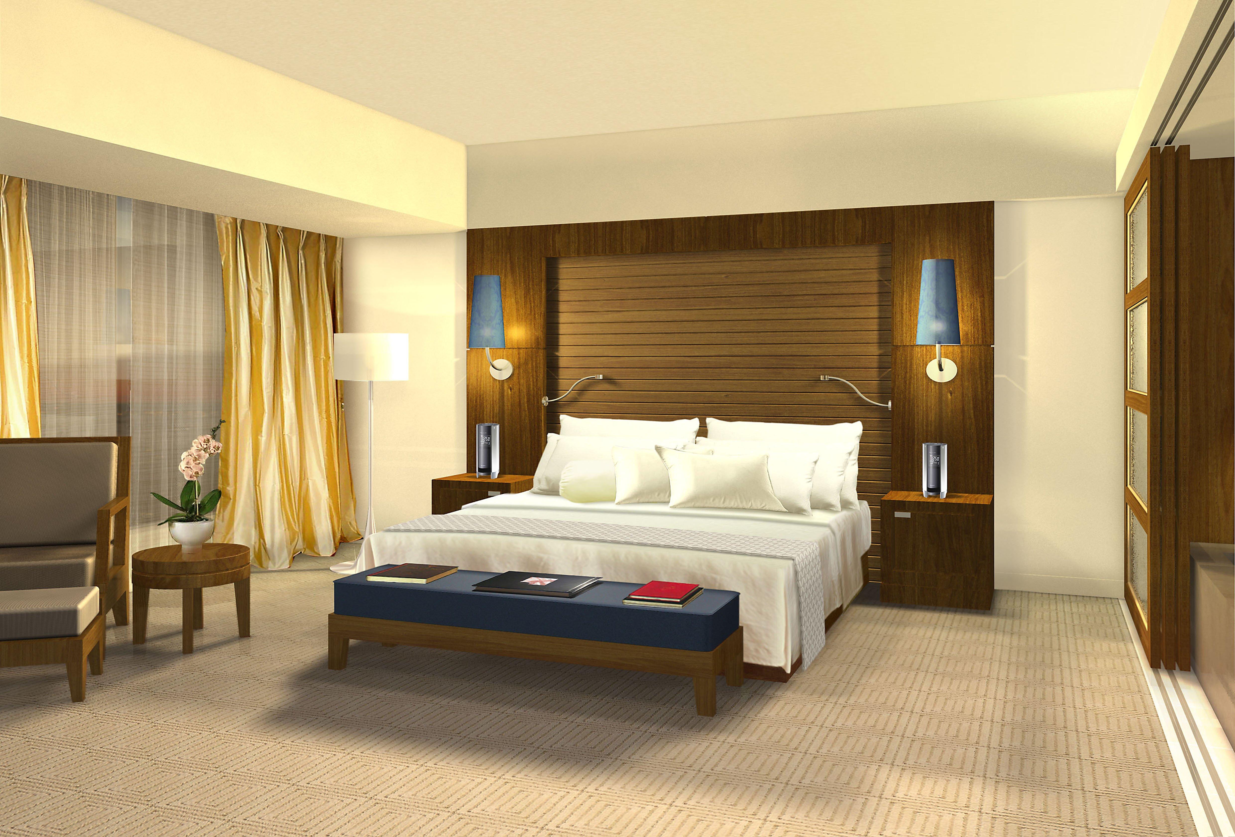 Radisson Hotel Shanghai - bedroom
