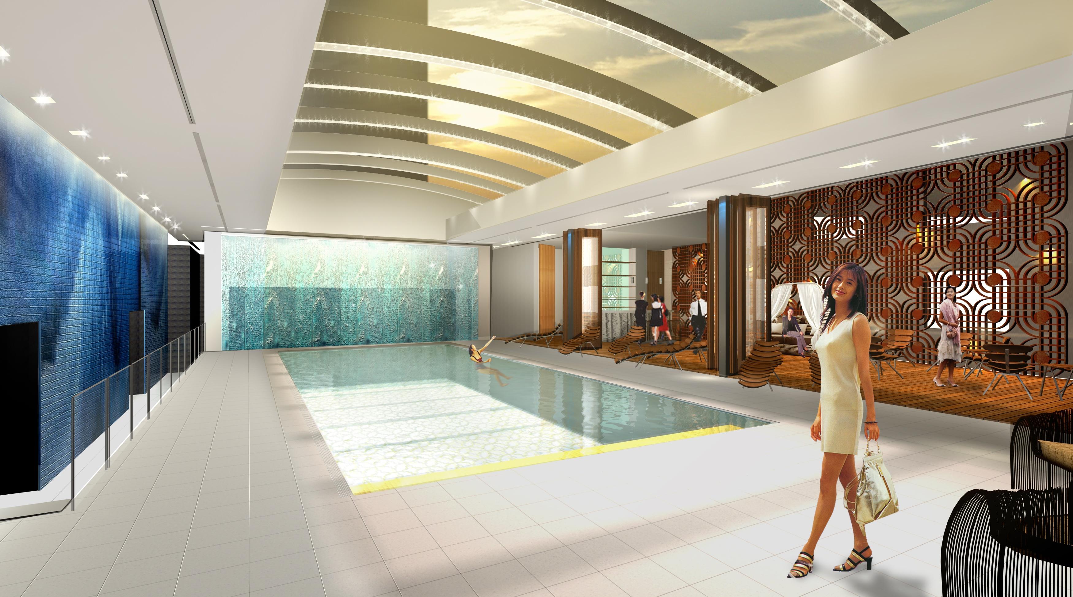 Radisson Hotel Shanghai - pool