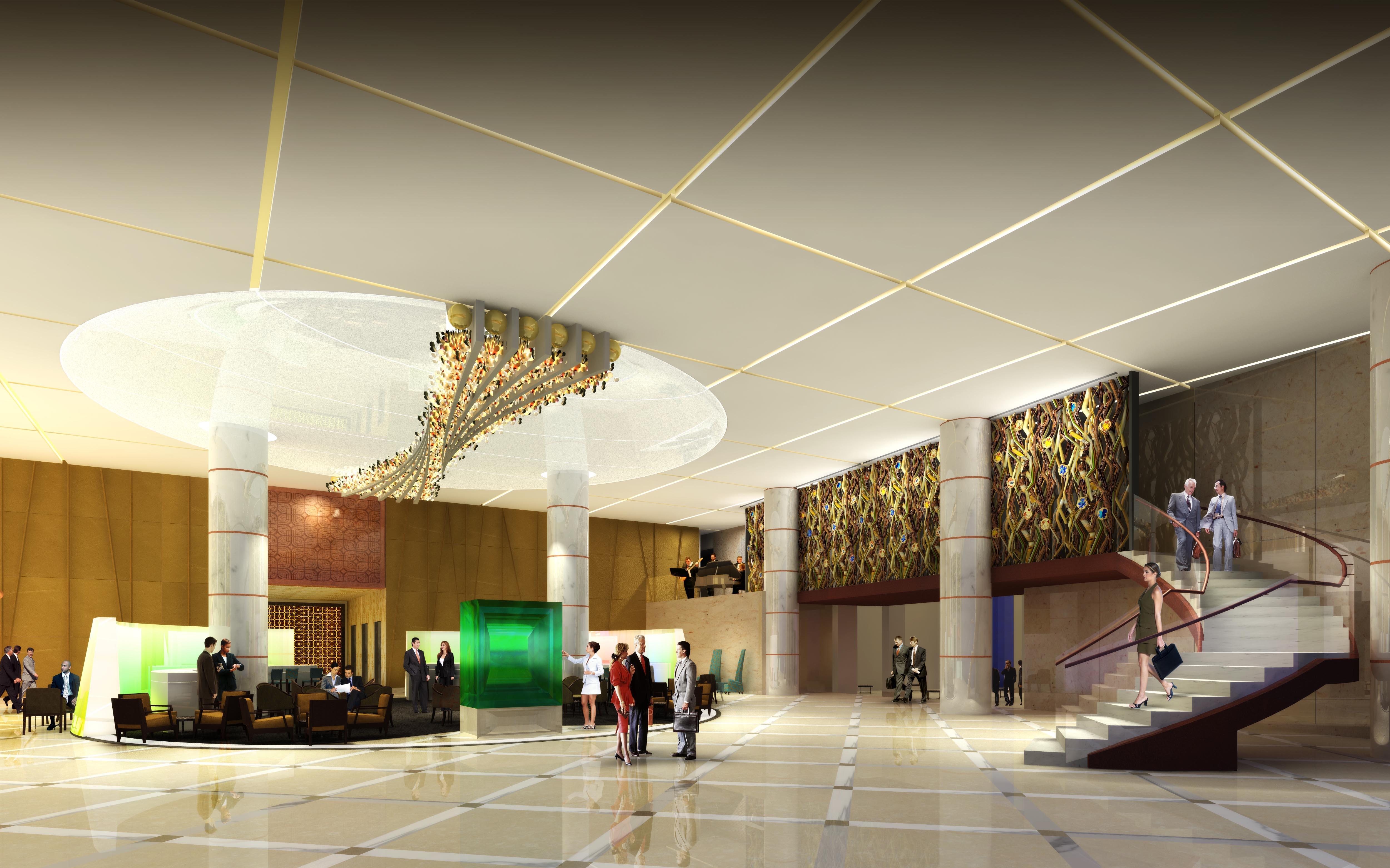 Radisson Hotel Shanghai - lobby
