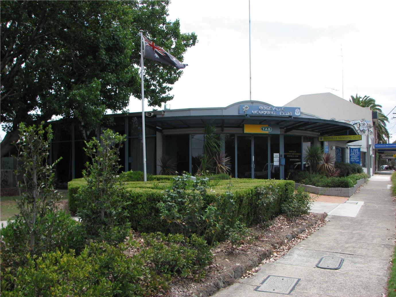 Roseville Returned Serviceman's Memorial Club - Prior to redevelopment