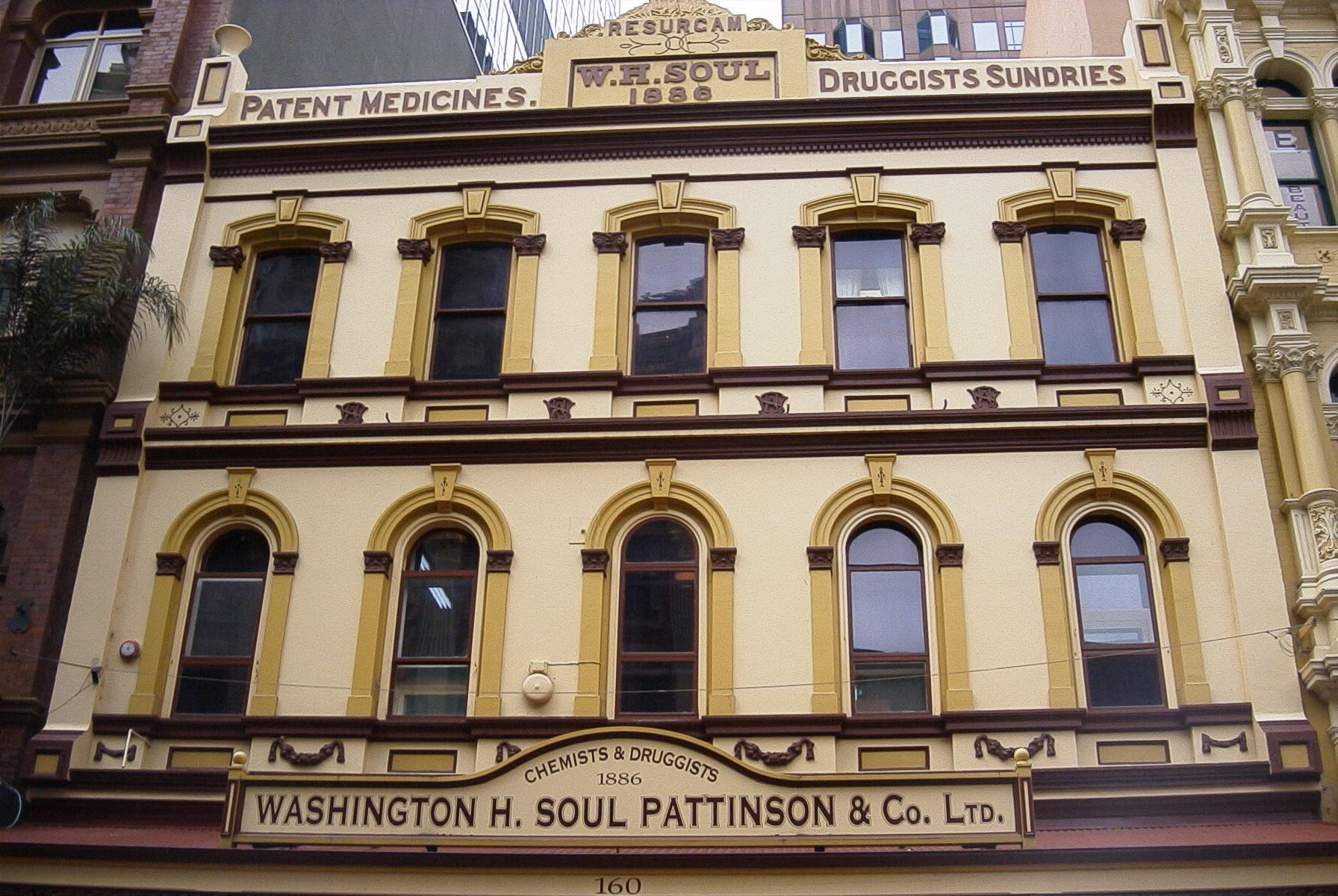 Washington H. Soul Pattinson