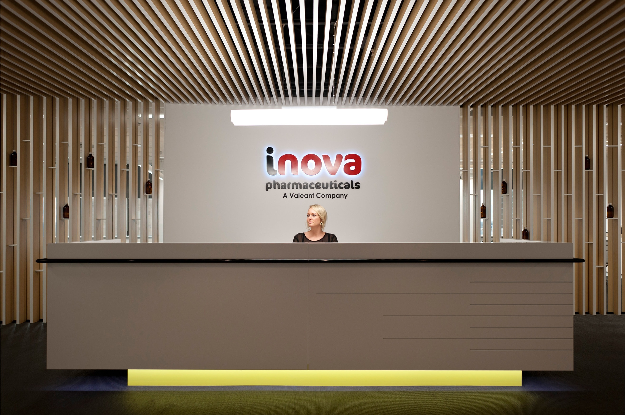 iNova PharmaceuticalsTenant Representation, Interior Design, Project & Construction Management Project Image 1 by PCG